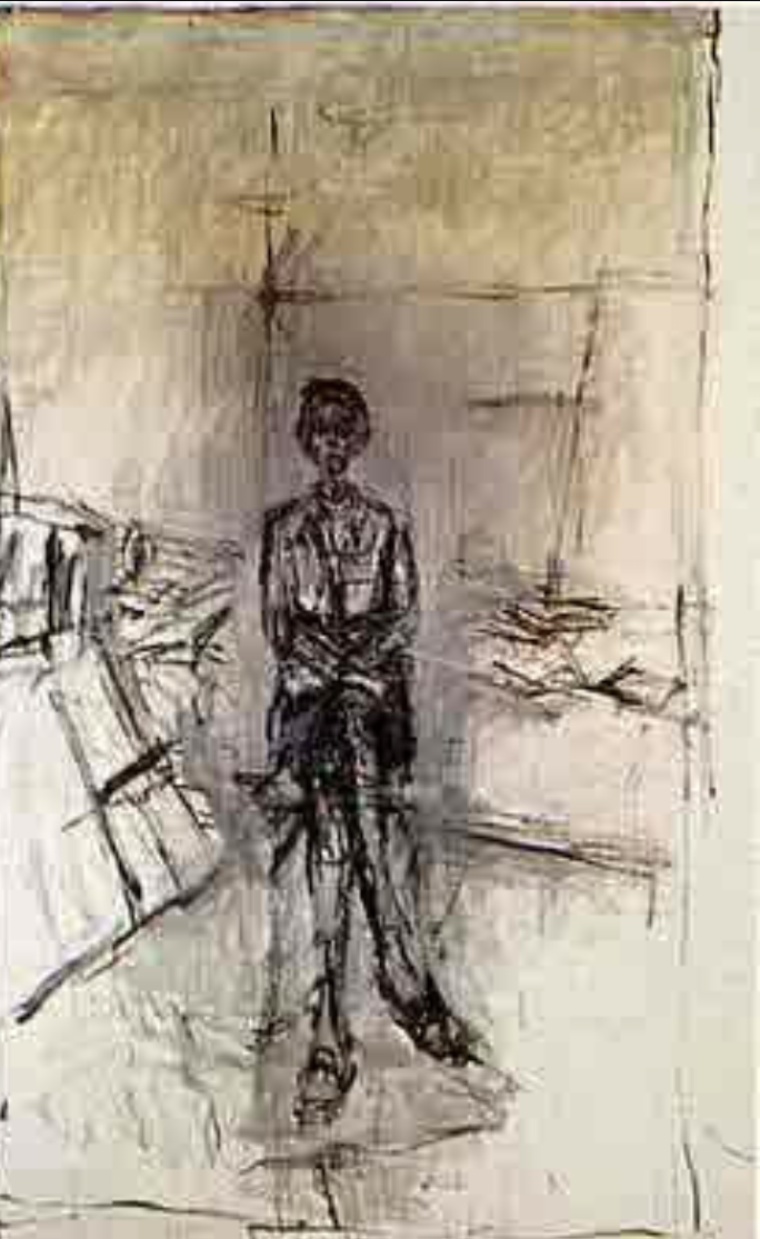 a comparison of emotion and intellect in artworks by alberto giacometti and alexadr rodchenko