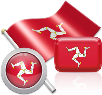 Manx flag icons pictures collection