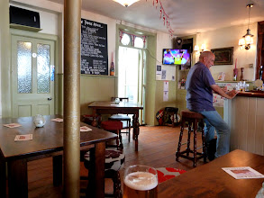 Photo: Sometimes a simple uncluttered pub is so welcome on a saturday afternoon