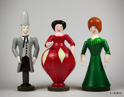 Ottavio, Anna und Elvira
