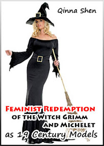 Cover of Qinna Shen's Book Feminist Redemption of the Witch Grimm and Michelet as 19 Century Models
