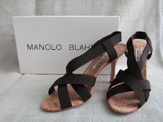 Manolo Blahnik Cork Sandals