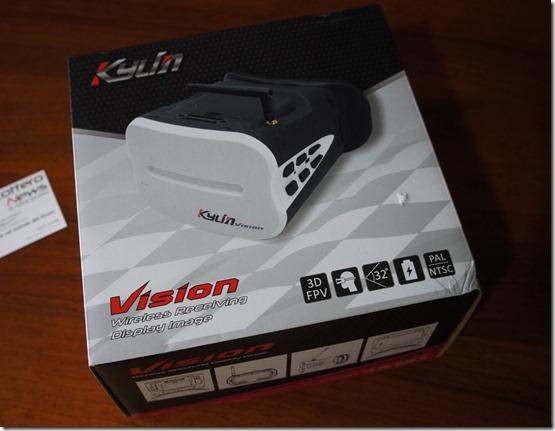 KDS Kylin Vision FPV 5.8 Ghz Googles 3