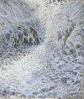 Tauwetter I 2006 1.20 x 1.50 Olio su tela
