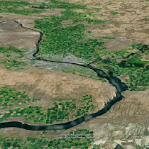 Pasco Basin (GoogleEarth views)