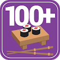 100+ Recipes Sushi and Rolls icon