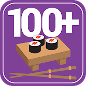100+ Recipes Sushi and Rolls