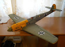 3я версия потолочного Мессершмитта - Me-109F