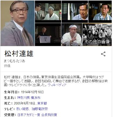 松村達雄、小市民インテリを演じた独得の台詞まわし