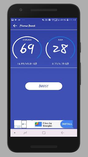 VJunk Cleaner - Junk Clean,Phone Boost,App Scan 1.2 screenshots 2