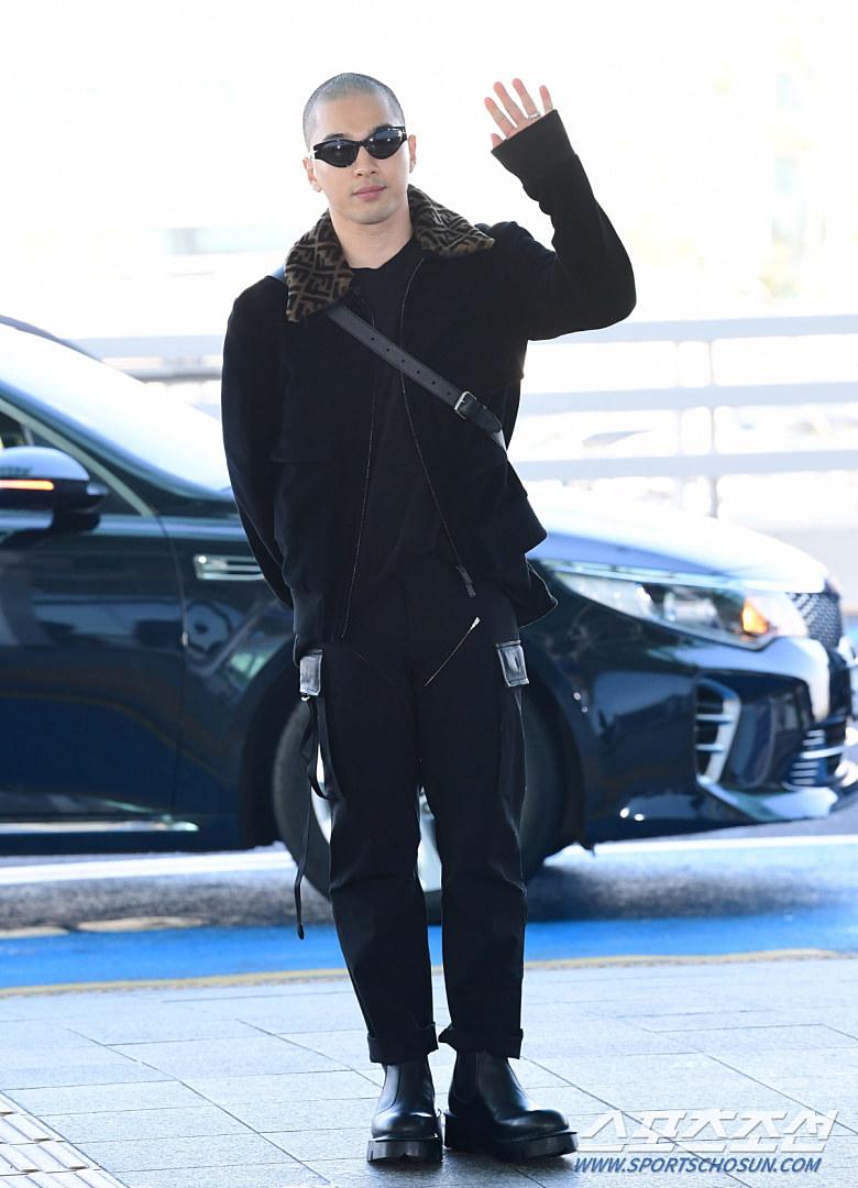 taeyang fendi 2020 airport 7