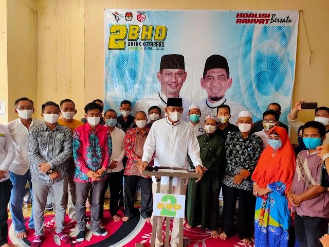 2BHD Deklarasikan Kemenangan di Pilkada Kotabaru