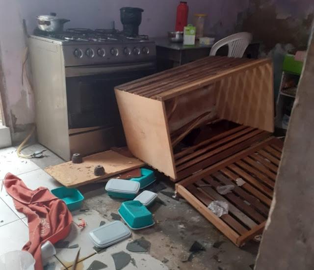 Jacobina: Cidadã tem casa arrombada no Bairro da Caixa D'água