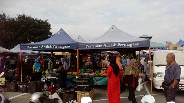 Pasar Pagi Behrang Stesen