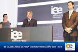 Participação na posse da nova diretoria do IEE