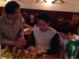 レストランでテーブルホッピングマジック