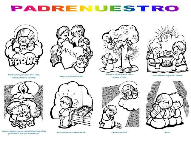 Oraciones en imágenes para niños