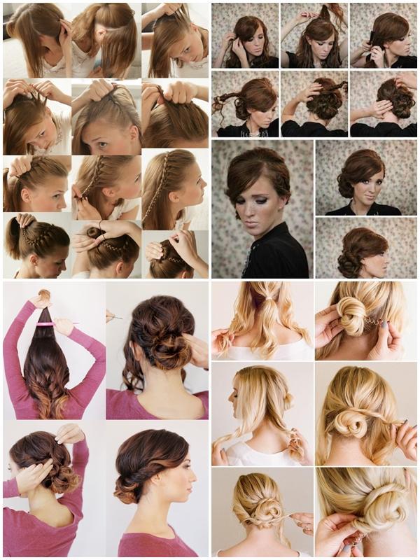 Long Hairstyle Tutorials Screenshot