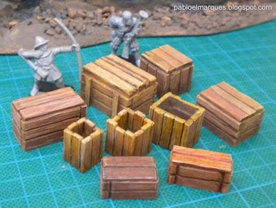 Los distintos modelos de Cajas de Mercancias