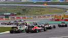 Start of the 2013 Brazilian F1 GP - all cars clean to 1st corner