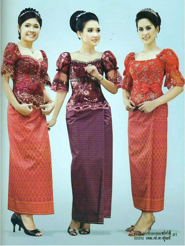 Dap News Khmer Clothes In Cambodia Cambodia Fashion Dress