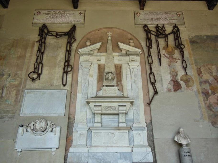 Esculturas en el Camposanto de Pisa