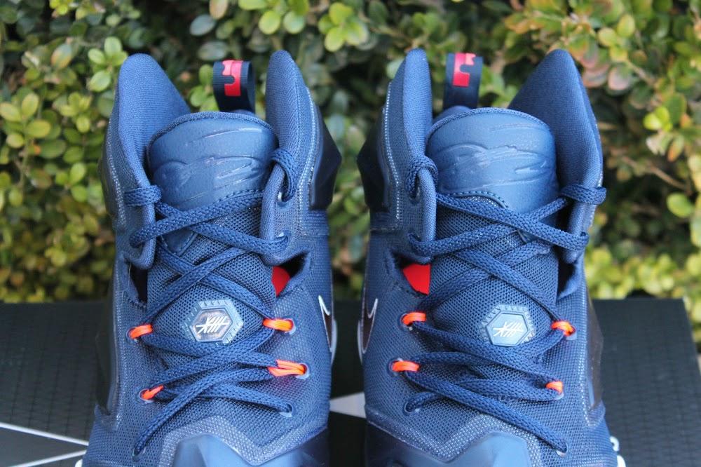 7b3aae55137 Closer Look at Nike LeBron XIII U.S.A.