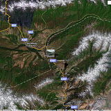 Kekemeren dans la chaîne de Suusamyr