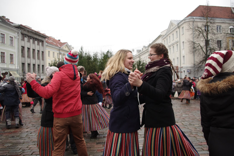12. detsember 2015 - Tartu talvine tantsupidu Raekoja platsil - IMGP9148.JPG