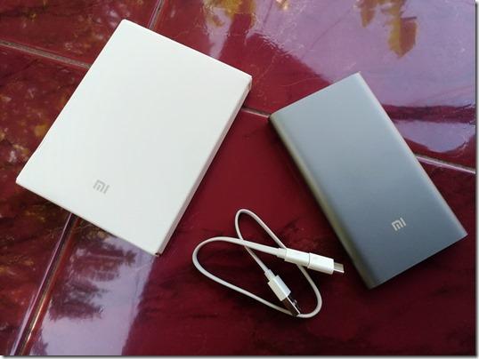 Paket Pembelian Xiaomi Power Bank Pro 10.000mAh