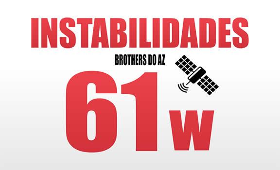 O Satélite de SKS Amazonas 61w sofre Instabilidades - 24/10/2020