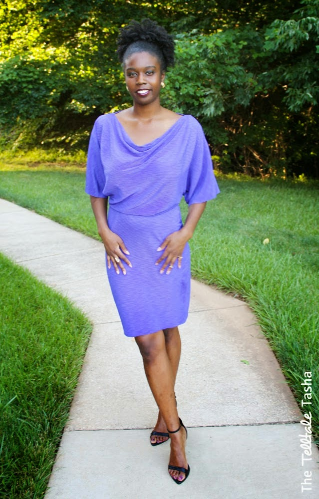 Perfectly Purple Summer Dress from Natasha! on Diane's Vintage Zest!