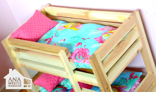 Prime Doll Bunk Beds For American Girl Doll And 18 Doll Ana White Download Free Architecture Designs Ferenbritishbridgeorg