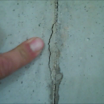 The Hydra Stop 300 fits into hairline concrete cracks.