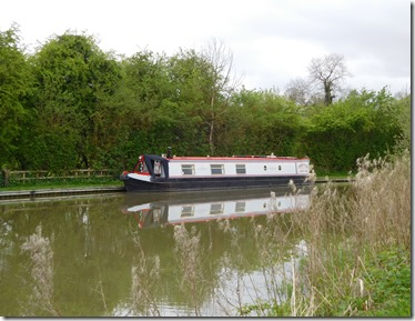 11 moored at stoke bruerne