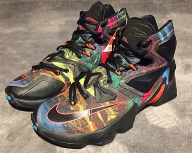 1d7a4e84157 Does This Crazy Colored Nike LeBron 13 Save the Shoe ...