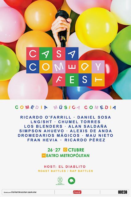 RISAS Y MÚSICA EN EL NUEVO CASA COMEDY FEST
