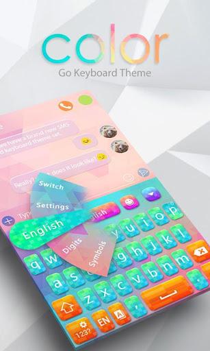 Color Keyboard Theme Emoji
