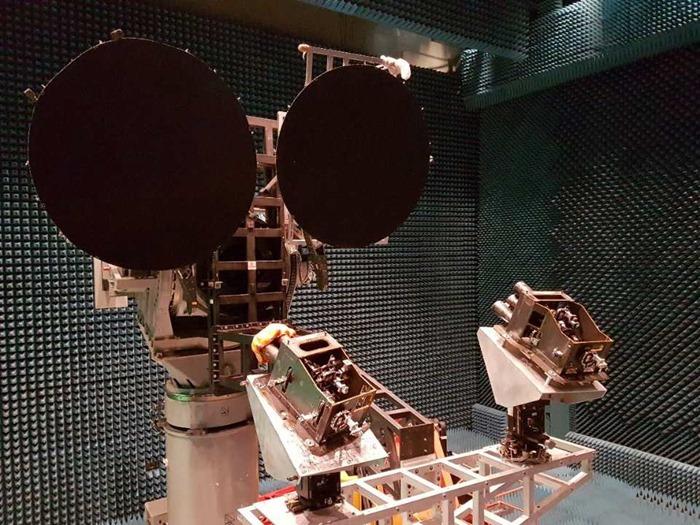 GSAT-11 Satellite - Reflector Beam Antenna Test - 01