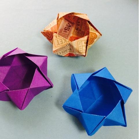 ハート 折り紙 : 折り紙 作り方 箱 : origamilabo.blogspot.com