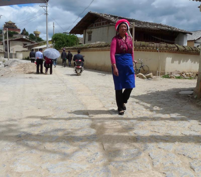 Chine. Yunnan.Shangri la Course hippique annuelle - P1250803.JPG
