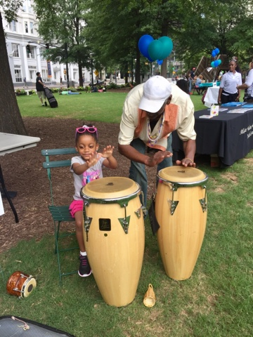 woodruff park atlanta downtown georgia festival top mom mommy mother motherhood blogger