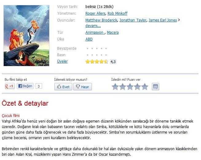 Aslan Kral Serisi 1-2-3 - Türkçe Dublaj BRRip Tek Link indir