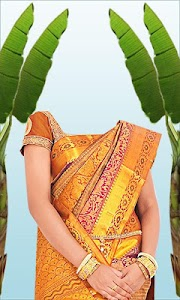 Wedding Saree Photo Suit screenshot 5
