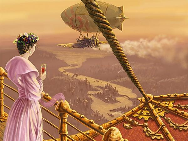 Flight Of The Dirigible, Fiction 2