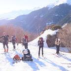 Collective CAF ski de randonnée Monfaucon 26 Février 2017