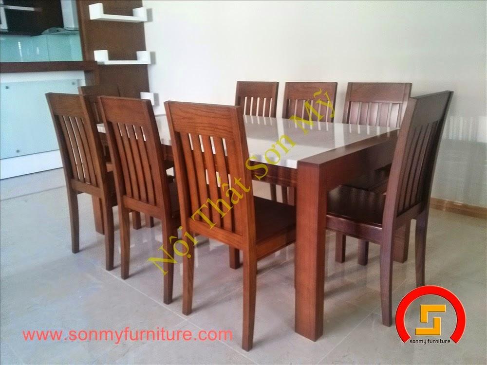 Bộ bàn ăn 8 ghế
