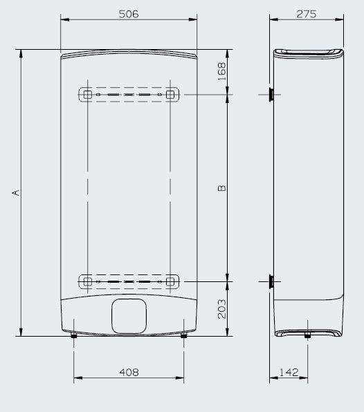 Velis evo 80 eu scaldabagno elettrico ariston boiler ebay for Boiler elettrico classe a