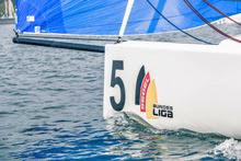J/70s sailing Deutsche Segel-Bundesliga- Friedrichshafen, Germany
