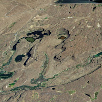 Dry Falls Complex in Grand Coulee (GoogleEarth views)